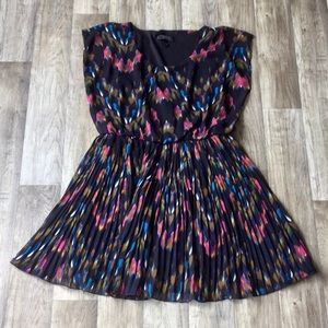 Jessica Simpson Dress - Black with colourful print